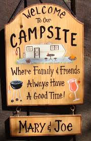 Custom Camper Sign For Camp Or RV Lake Campfire Or Backyard Home ... Canvas Backyard And Signs Pics On Remarkable Custom Outdoor Personalized Patio Goods Pool Oasis Sign Yard Beach Summer Pictures Garden Wooden Signage Pallet Plate Jimbo Le Simspon For Oldham Athletics Images Fabulous Bar Grill Proudly Serving Whatever Welcome To Our Paradise Designs Hand Painted 25 Unique Signs Ideas On Pinterest Swimming Pool Colorful Made Wood Ab Chalkdesigns Photo With Mesmerizing Rules