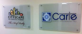 pany Logo signage by sign source solution – on