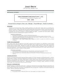 Architectural Project Manager Job Description Resume Architect Sample Top