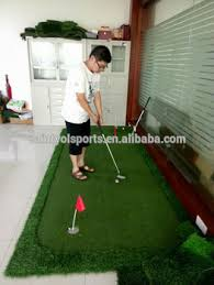fice Two Holes Golf Pitch Pp Golf Putting Green Carpet Buy