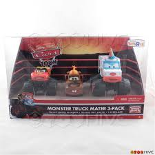 Disney Pixar Toon Cars Monster Truck Mater (3)-pack | EBay