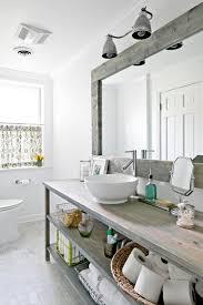 Rustic Industrial Bathroom Mirror by Industrial Chic Bathroom Lighting Best Bathroom Decoration