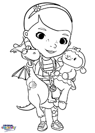 Do The Same By Coloring In Doc McStuffins Page Below With Your Own Style And Imagination