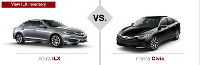 Acura vs Honda parison Muller s Woodfield Acura