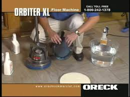 commercial orbiter floor machine marble natural stone floor cleaning
