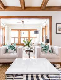 living happily with wood trim paint colours that play well with