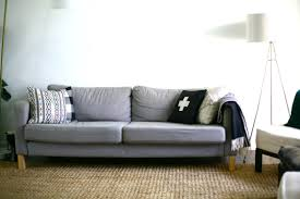 Karlstad Sofa Cover Colors by Our Statement Sofa Comfortworks Green Velvet Ikea Sofa Cover