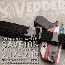 Vedder Holsters - Save Big This Presidents' Day Weekend...   Facebook Vedder Lighttuck Iwb Holster 49 W Code Or 10 Off All Gear Comfortableholster Hashtag On Instagram Photos And Videos Pic Social Holsters Veddholsters Twitter Clinger Holster No Print Wonderv2 Stingray Coupon Code Crossbreed Holsters Lens Rentals Canada Coupon Gun Archives Tag Inside The Waistband Kydex
