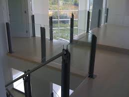 Calgary Interior Glass Handrail Systems Deck Railings Ac And ... Glass Stair Rail With Mount Railing Hdware Ot And In Edmton Alberta Railingbalustrade Updating Stairs Railings A Split Level Home Best 25 Stair Railing Ideas On Pinterest Stairs Hand Guard Rails Sf Peninsula The Worlds Catalog Of Ideas Staircase Photo Cavitetrail Philippines Accsories Top Notch Picture Interior Decoration Design Ideal Ltd Awnings Wilson Modern Staircase Decorating Contemporary Dark