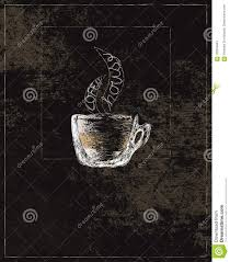 Download Illustration Of Transparent Cup Full Coffee Stock