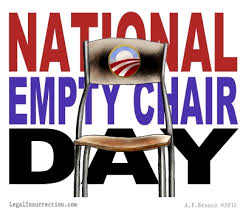 national empty chair day photos from around country