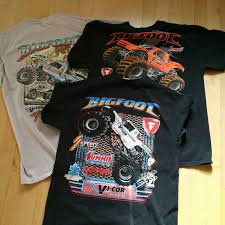 100 Monster Truck Shirts Truck Tees In Awesome Colorways Price Is For One A Depop