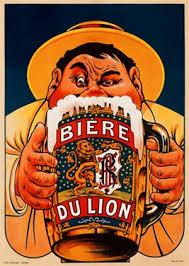 Biere Du Lion By Oge 1909 Belgium