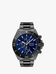 HUGO BOSS 1513743 Men's Ocean Edition Chronograph Ceramic Bracelet Strap  Watch, Black/Blue Hugo Boss Blue Black Zip Jumper Mens Use Coupon Code Hugo Boss Shoes Brown Green Men Trainers Velox Watches Online Boss Orange Men Tshirts Pascha Faces Coupons Discount Deals 65 Off December 2019 Blouses When Material And Color Are Right Tops In X 0957 Suits Hugo Women Drses Katla Summer Konella Dress Light Pastel Pink Enjoy Rollersnakes Discount Actual Discounts The Scent Gift Set For
