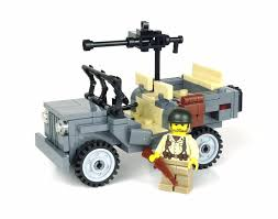 Willys Jeep World War 2 Army Builder Complete Custom Set Made With ... Amazoncom Brick Brigade Custom Lego Military Model Vehicle For Lego Wwii Deuce And A Half Cckw Itructions Youtube Wc52 Truck Modern Vehicles Ideas Product Ideas Train Carriages Brickmania Blog Winners Arent Born Theyre Built Page 58 Classic Legocom Us Deluxe Swat Police Made With Real Bricks Heavy Tatra 8x8 Toy Mini Army War Building Block Jeep M35 Halftrack Bricknerd Your Place All Things The