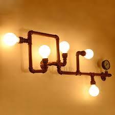 light brown wrought iron industrial kitchen lighting