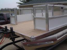 pontoon fence paneling options design ideas