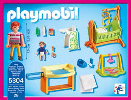 playmobil chambre bébé playmobil dollhouse 5304 chambre de bébé playmobil achat