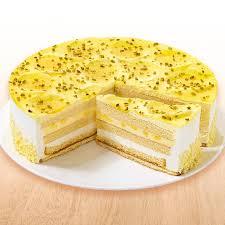 zitronen buttermilch torte ungeschnitten froneri schöller