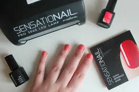 sensationail gel polish merry musing