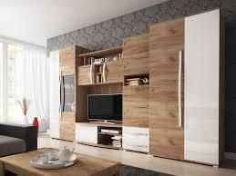 wohnwand wohnzimmer anbauwand tv lowboard regal schrank modern design neu