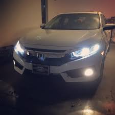 2016 civic ex l led fog lights upgrade pictures