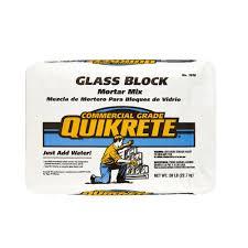 Mapei Porcelain Tile Mortar Msds by Quikrete 50 Lb Glass Block Mortar Mix 161000 The Home Depot