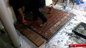 kuma sequoia install part 3 hearth construction