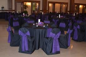 Purple And Black Wedding Download Decorations Corners