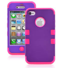 Armor Impact Defender Hybrid Double Case for Iphone 4 & 4s ly