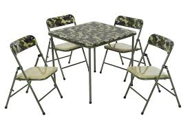 Cosco Products   COSCO Kids Pinch-Free 5pc Vinyl Set, Camo With ... The 10 Best Folding Card Table Sets To Raise The Stakes Come Gamenight Cosco 5piece Padded Vinyl Chair Set Stoneberry Fniture At Lowescom Dorel Industries Square Top Ding Or Kids Camo With Green Frame 37457cam1e Home And Office Reviews Wayfair 5 Piece Pinchfree Ebay Amazoncom In Teal Products Wood With Seat Steamer Sco Vinyl Table Without Introyoutube Youtube And Chicco High