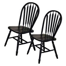 Sunset Trading Arrowback RTA Dining Chair - Set Of 2 ...