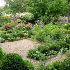 Charming Fall Landscaping Ideas Garden With Rustic Fence Plant Together