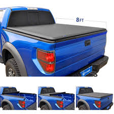 100 F 150 Truck Bed Cover Tyger Auto T1 Roll Up Tonneau TGBC19031
