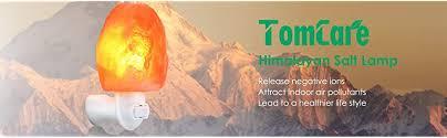 Himalayan Salt Lamp Amazon by Amazon Com Tomcare Salt Lamp Himalayan Salt Light Glow Hand