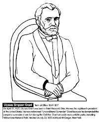 US President Ulysses S Grant