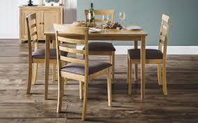 Cleo Dining Set - Light Oak   Julian Bowen Limited