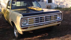 1976 Dodge D100. (Old Yeller) - YouTube 1976 Dodge D100 For Sale Classiccarscom Cc11259 Crew_cab_dodower_won_page Restoration Youtube Dodge D100 Short Wide Bed Truck Other Pickups Dodgelover1990 Power Wagon Specs Photos Modification Dodge Ramcharger 502px Image 3 Orangecrush76 Wseries Pickup Bangshiftcom Sale On Ebay Is Perfection Wheels D800 Oil Distributor Item G3474 Sold S Super Bee Wikipedia Ram Truck 93k Actual Miles No Reserve Sunny Short Box Fleetside