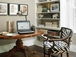 Interior Feminine Office Accessories Glass Rack Cabinet Light Brown Window Blind Rustic Wooden Designer Desks