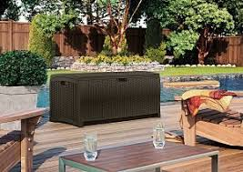 Suncast 195 Gallon Deck Box Manual deck boxes and storage archives outsidemodern