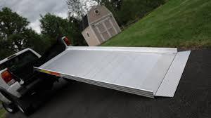 100 Truck Ramp Kit TRAVERSE MultiPurpose Aluminum Loading EZACCESS