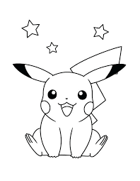 Pikachu Coloring Pages Free To Print A Mega Ex