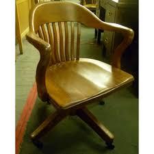 incredible oak desk chair with vintage swivel oak desk chair