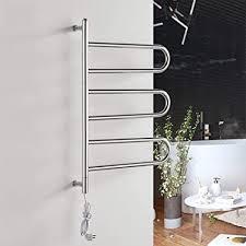bad handtuchhalter badheizkörper elektrisch gebogen leiter