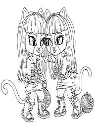 Monster High Coloring Pages 17