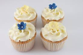 Click To Enlarge Image Royal Blue And Yellow Cupcakes