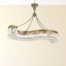 Lighting By Pecaso Athens Golden Bronze SShaped Chandelier With Heirloom Grandcut Crystal