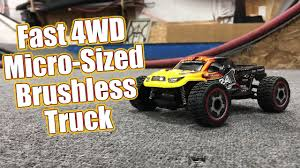 100 Micro Rc Truck RC Monster Madness Carisma GT24T 4WD Running