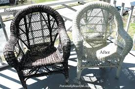 Best Spray Paint For Wicker Furniture Spray Painting Wicker Can