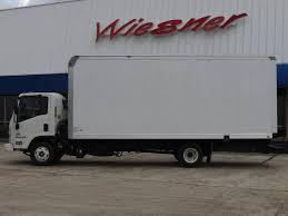 100 20 Ft Truck 18 Isuzu NPRHD With Ft Box Dry Van Body GAS Conroe TX